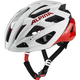 Alpina Valparola Fietshelm, white-red